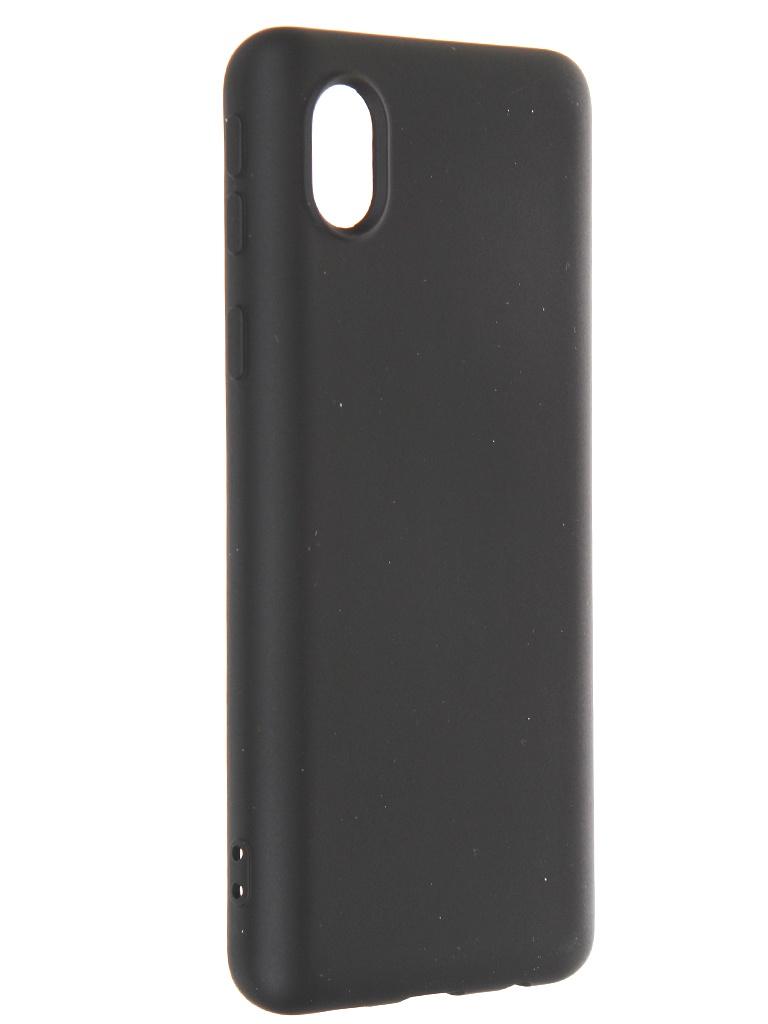 Чехол Krutoff для Samsung Galaxy A01 Core A013 Silicone Case Black 12409