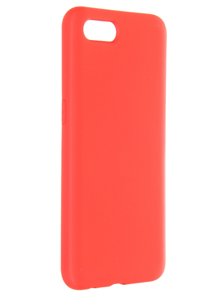 Чехол Krutoff для Realme C2 Silicone Case Red 12391