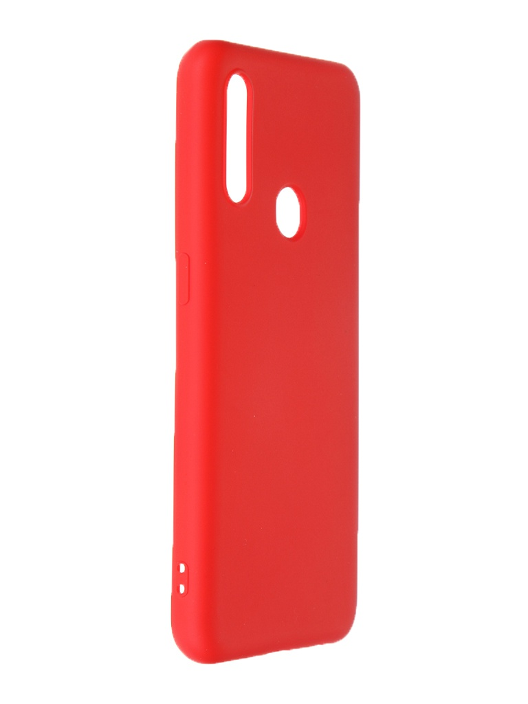 Чехол Krutoff для Huawei Y8p / Honor 30i Silicone Case Red 12361