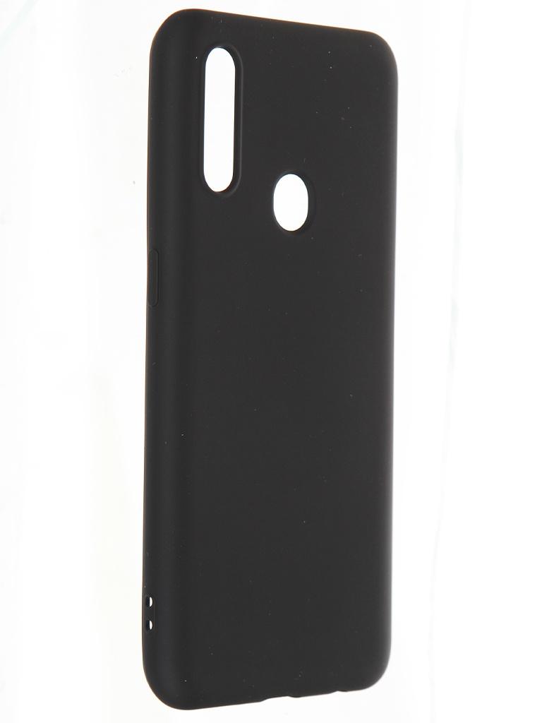 Чехол Krutoff для Oppo A31 Silicone Case Black 12365