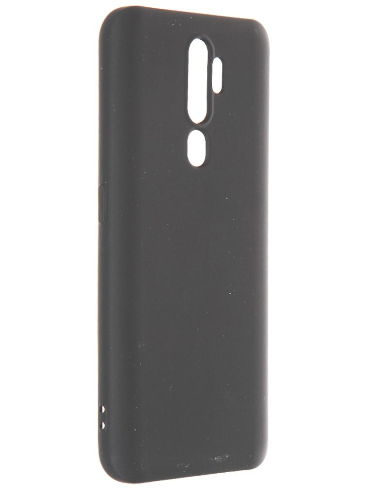 Чехол Krutoff для Oppo A5 2020 / A9 Silicone Case Black 12371