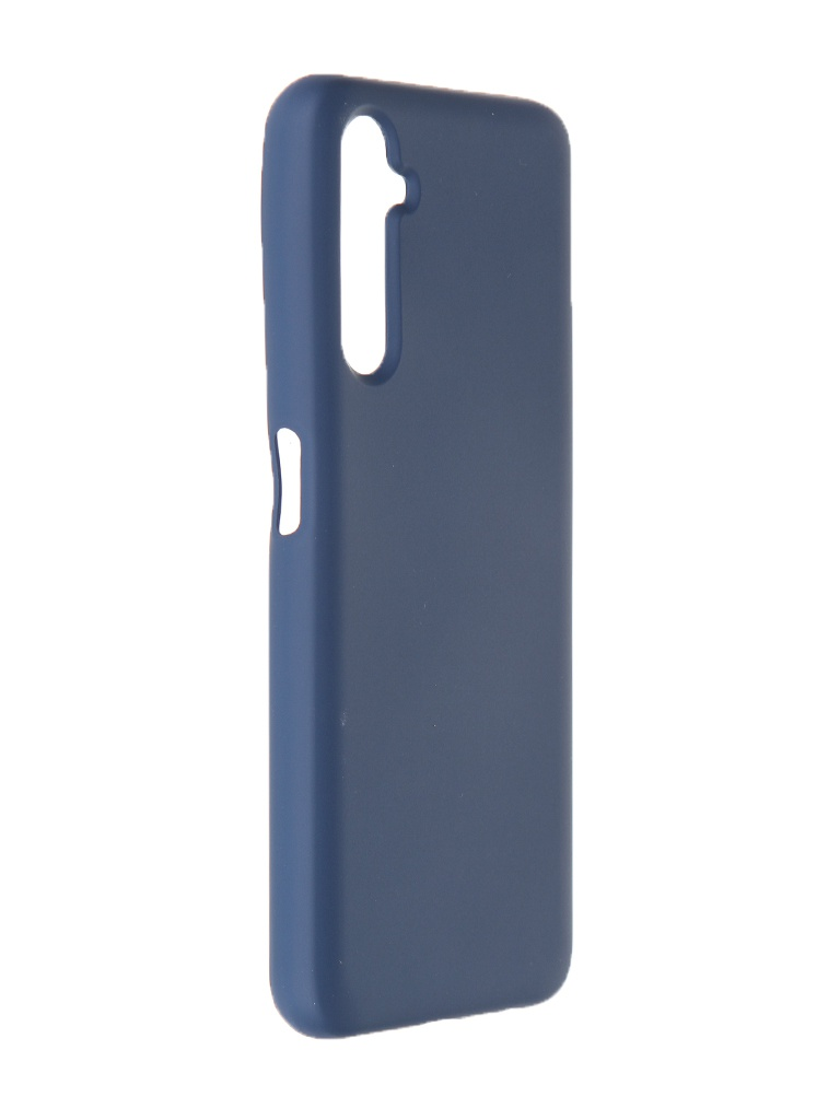 Чехол Krutoff для Realme 6 Pro Silicone Case Blue 12375