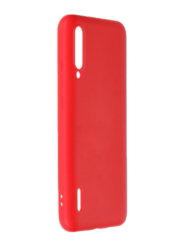 Чехол Krutoff для Xiaomi Mi A3 Silicone Case Red 12476