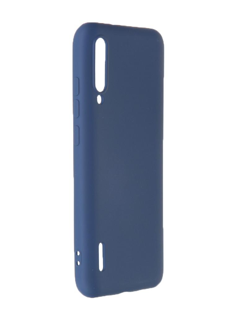 Чехол Krutoff для Xiaomi Mi A3 Silicone Case Blue 12478