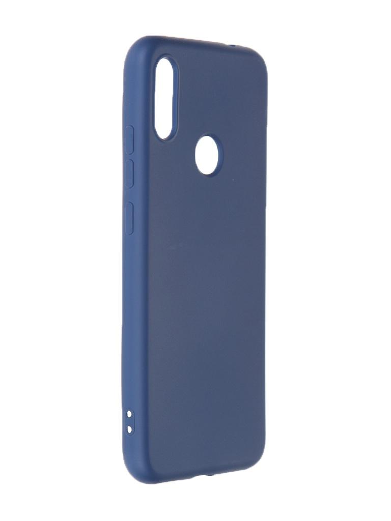 Чехол Krutoff для Xiaomi Redmi Note 7 Silicone Case Blue 12518