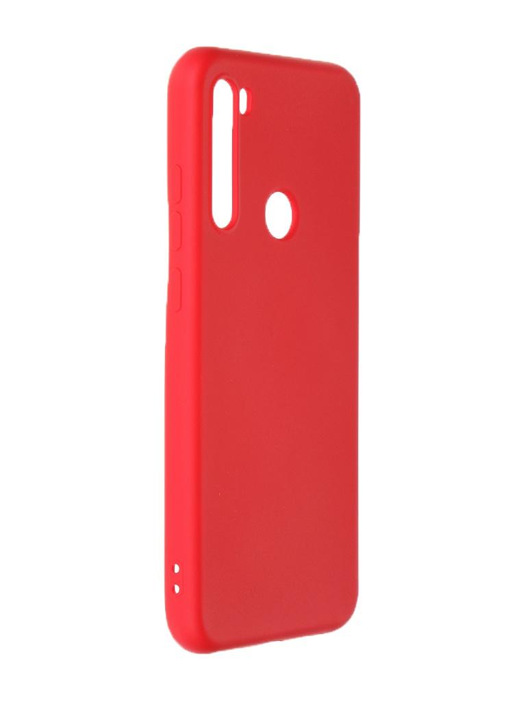 Чехол Krutoff для Xiaomi Redmi Note 8T Silicone Case Red 12523