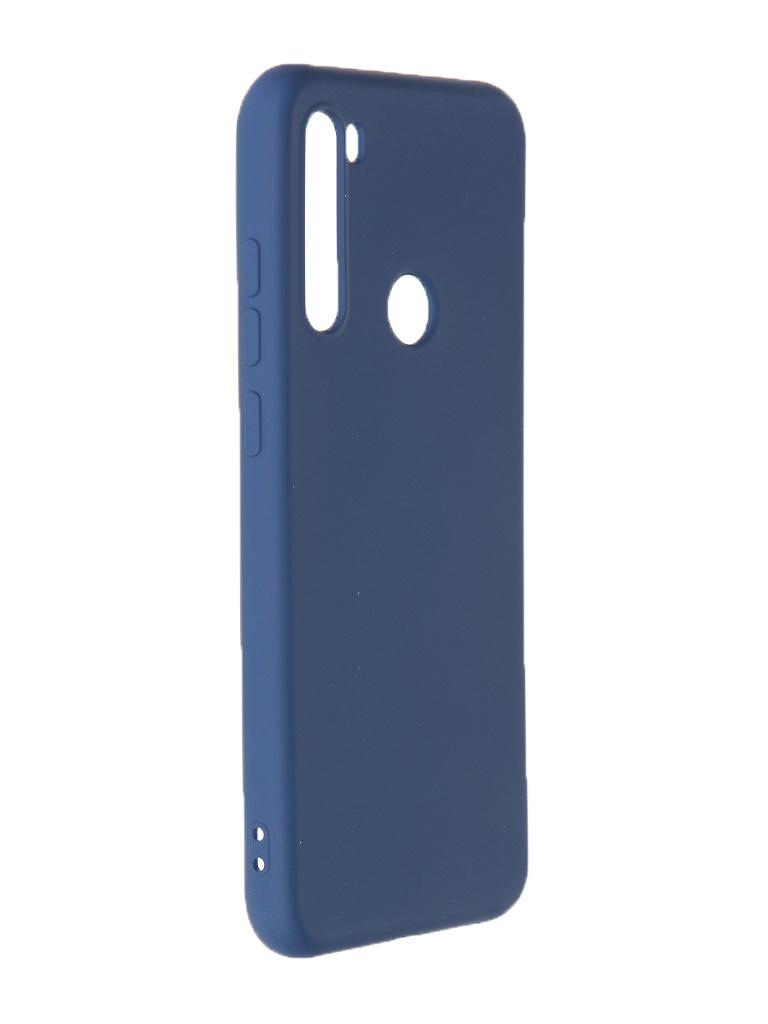 Чехол Krutoff для Xiaomi Redmi Note 8T Silicone Case Blue 12524