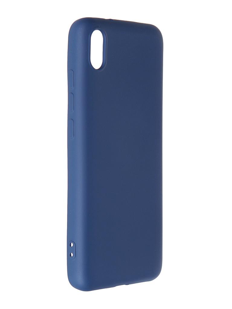 Чехол Krutoff для Xiaomi Redmi 7A Silicone Case Blue 12496