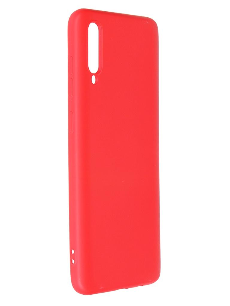 Чехол Krutoff для Samsung Galaxy A70 A705 Silicone Red 12414