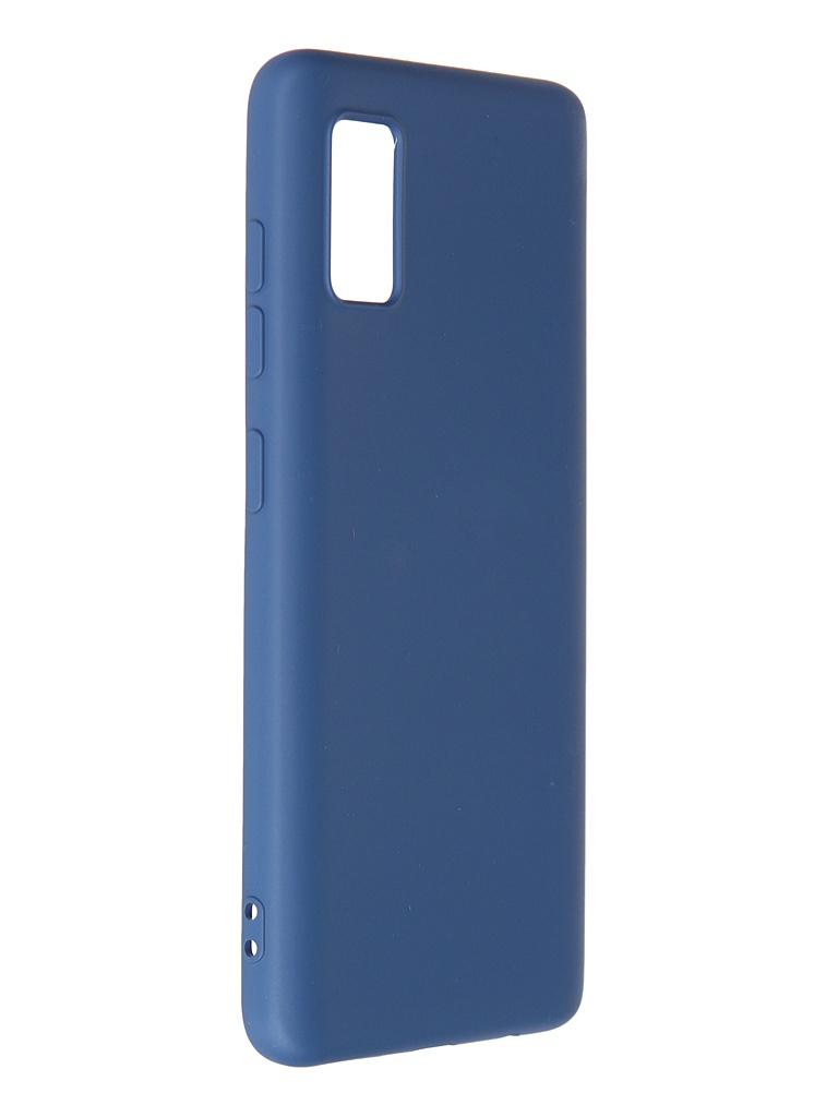 Чехол Krutoff для Samsung Galaxy A41 A415 Silicone Blue 12438