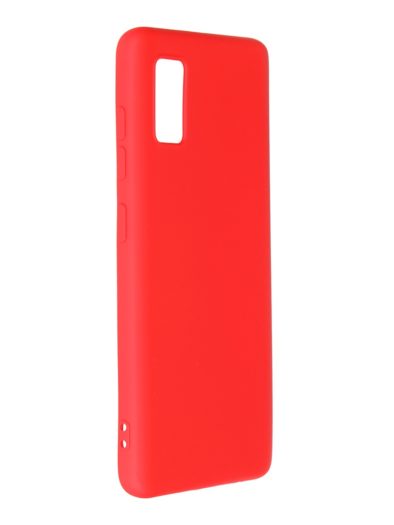 Чехол Krutoff для Samsung Galaxy A41 A415 Silicone Red 12436