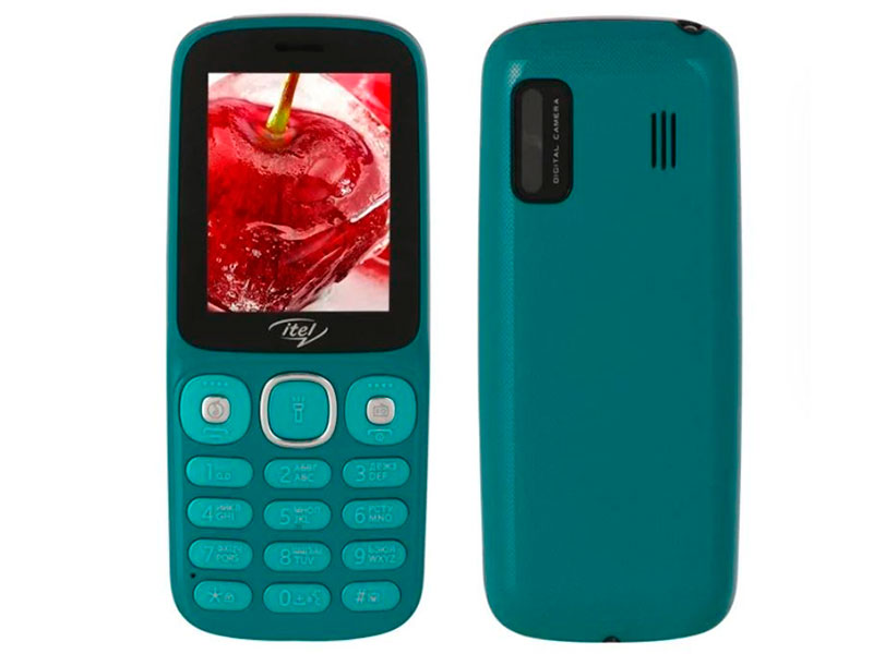 Сотовый телефон itel IT5026 DS Peacock Green ITL-IT5026-PEGN