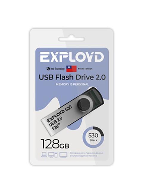 Фото - USB Flash Drive 128Gb - Exployd 530 EX-128GB-530-Black usb flash drive 32gb exployd 640 ex 32gb 640 black