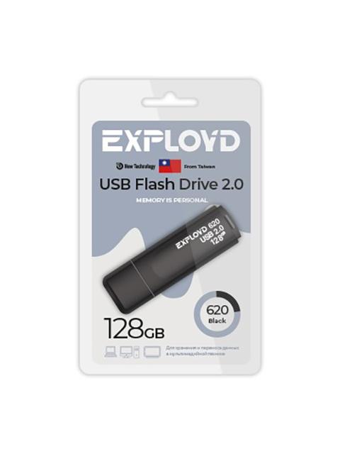USB Flash Drive 128Gb - Exployd 620 EX-128GB-620-Black