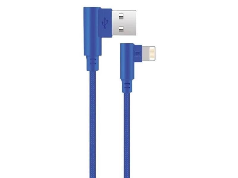 Фото - Аксессуар Exployd Game USB - Lightning 1m Blue EX-K-541 аксессуар baseus sharp bird mobile game cable usb lightning 1m blue calmvp d03