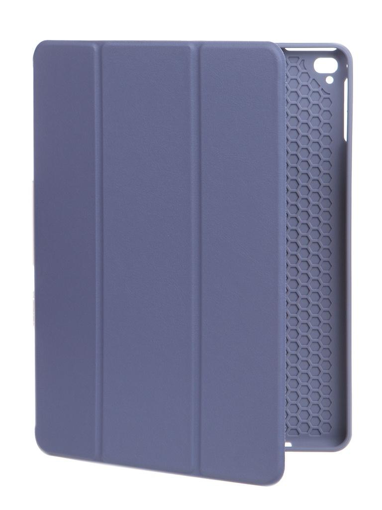 Чехол Gurdini для APPLE iPad Air/Air2/Pro9.7/NEW 9.7 2017-2018 Leather Series Pen Slot Grey 912993