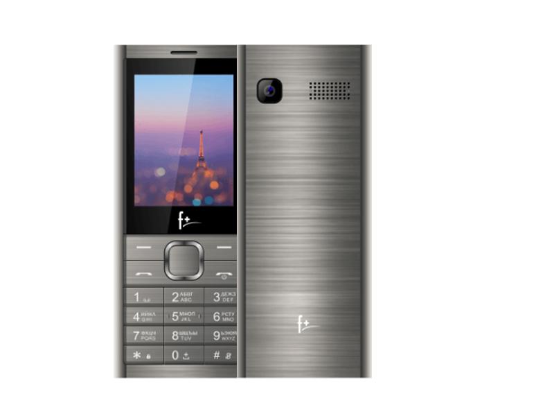 Сотовый телефон F+ B241 Dark Grey