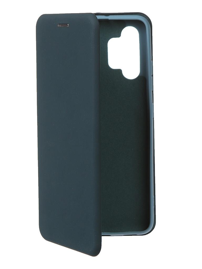 Чехол Krutoff для Samsung Galaxy A32 Soft Book Green Opal 12596