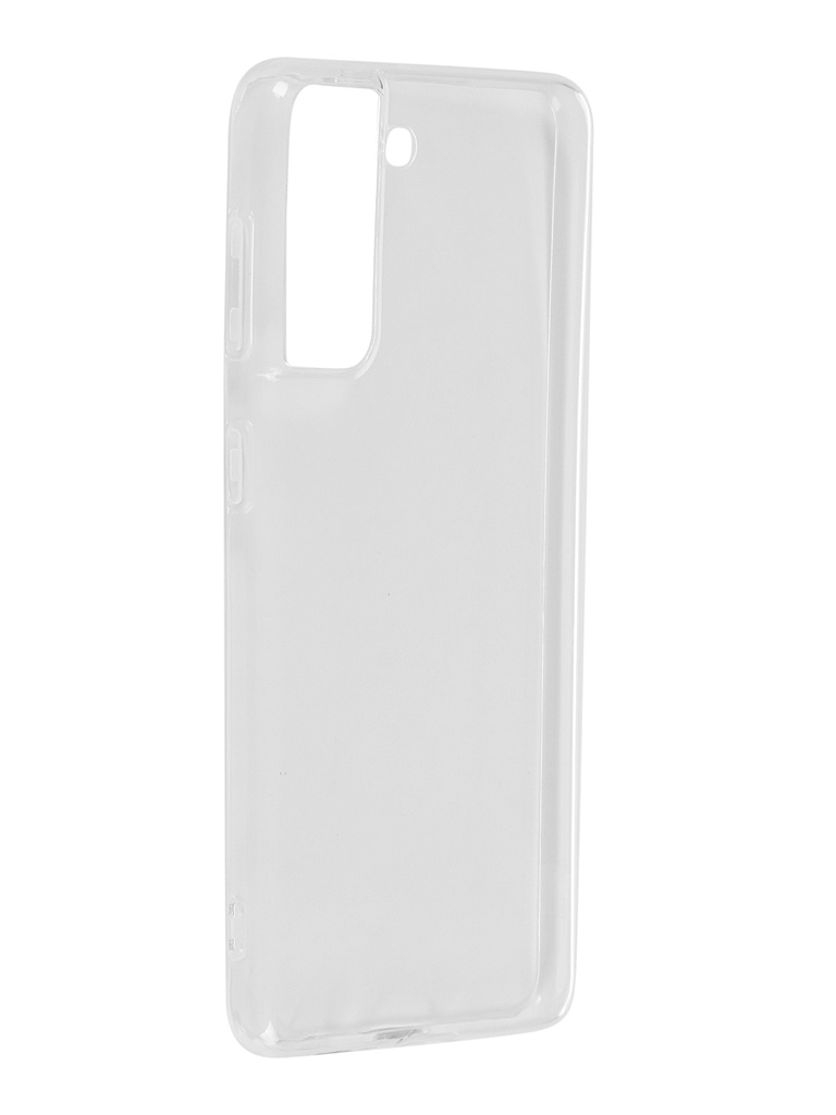 Чехол Krutoff для Samsung Galaxy S21 (G991) Clear Case Transparent 12617