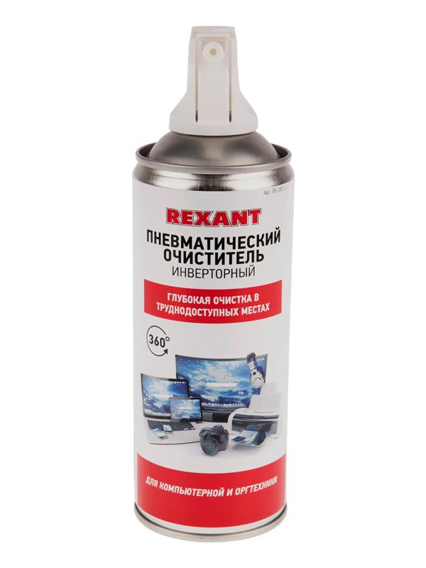 Фото - Аксессуар Rexant Duster Off 230ml 85-0001-1 аксессуар konoos air duster kad 405 n 405ml