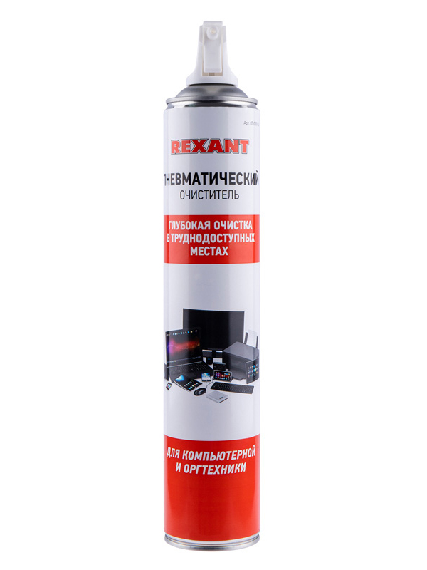 Фото - Аксессуар Rexant Duster Off 720ml 85-0001-2 аксессуар konoos air duster kad 405 n 405ml