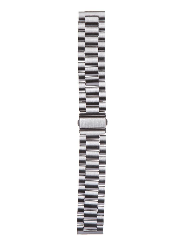 Аксессуар Универсальный ремешок Red Line 22mm Metal Silver УТ000024617