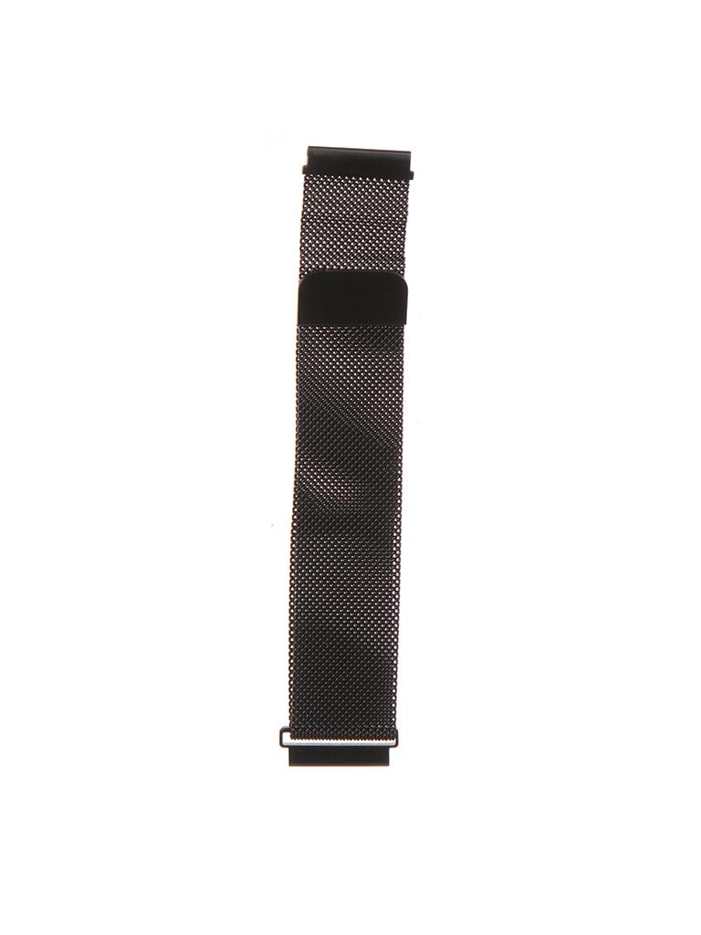 Аксессуар Универсальный магнитный ремешок Red Line 20mm Metal Black УТ000024612