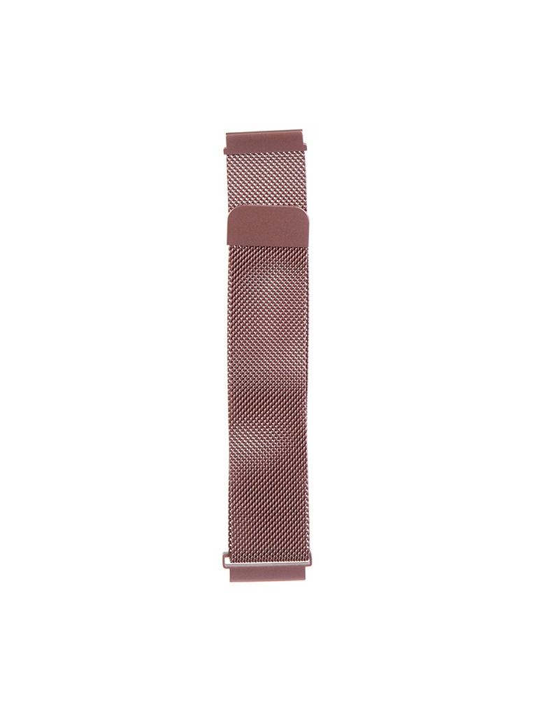 Аксессуар Универсальный магнитный ремешок Red Line 20mm Metal Rose Gold УТ000024610