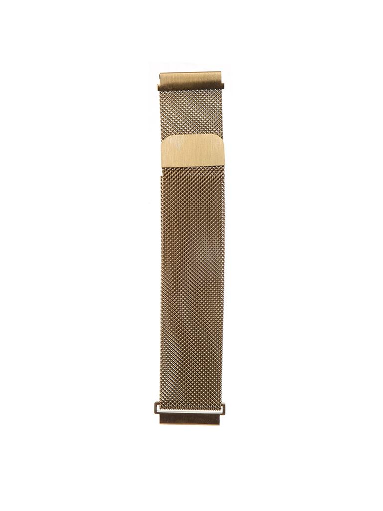 Аксессуар Универсальный магнитный ремешок Red Line 20mm Metal Gold УТ000024609