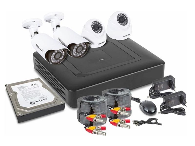 Комплект видеонаблюдения Rexant PROconnect 45-0413
