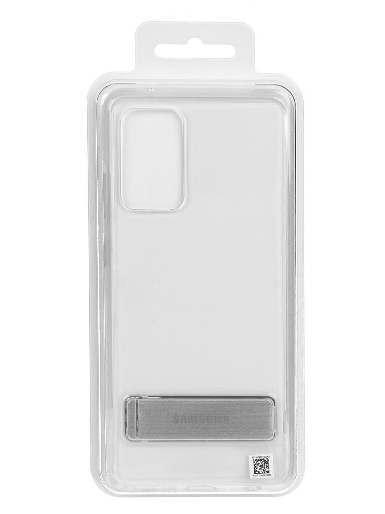 Чехол-накладка для Samsung Galaxy A72 Clear Standing Cover Transparent EF-JA725CTEGRU