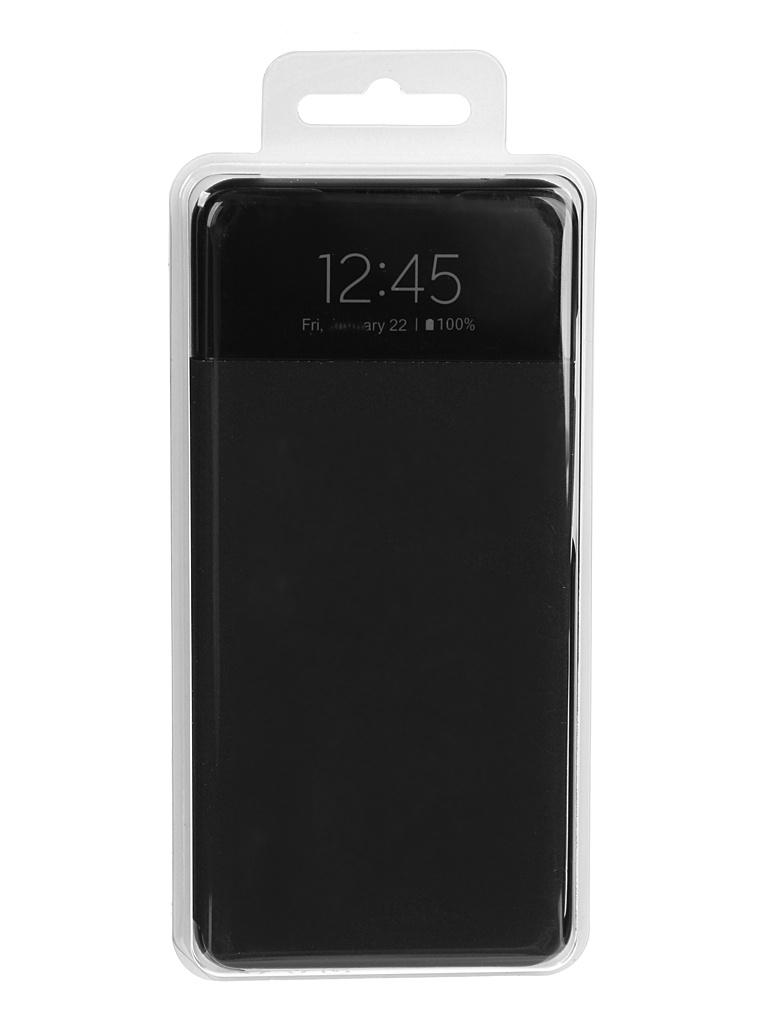 Чехол-книжка для Samsung Galaxy A52 Smart S View Wallet Cover Black EF-EA525PBEGRU
