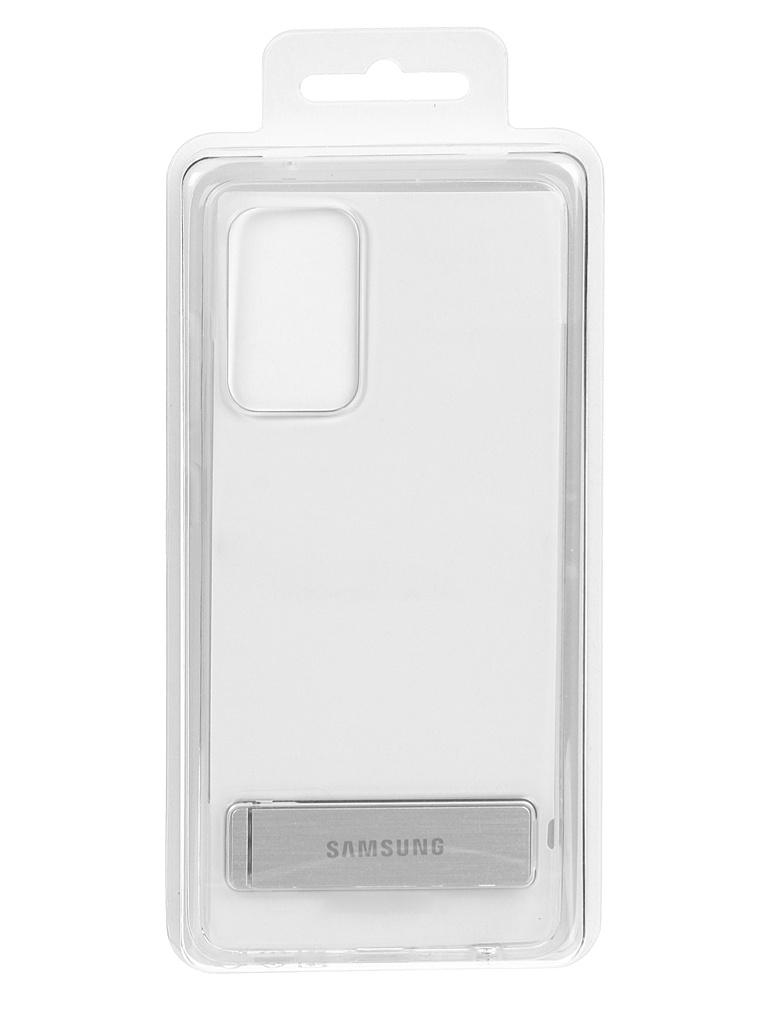 Чехол-накладка для Samsung Galaxy A52 Clear Standing Cover Transparent EF-JA525CTEGRU
