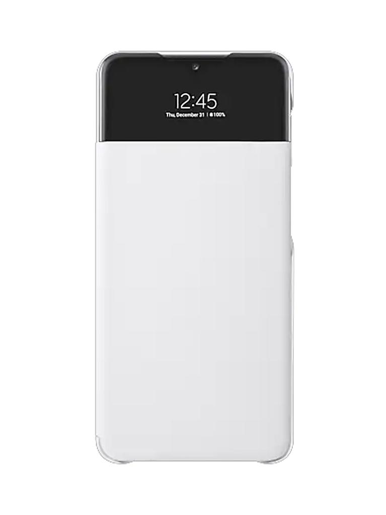 Чехол-книжка для Samsung Galaxy A32 Smart S View Wallet Cover White EF-EA325PWEGRU