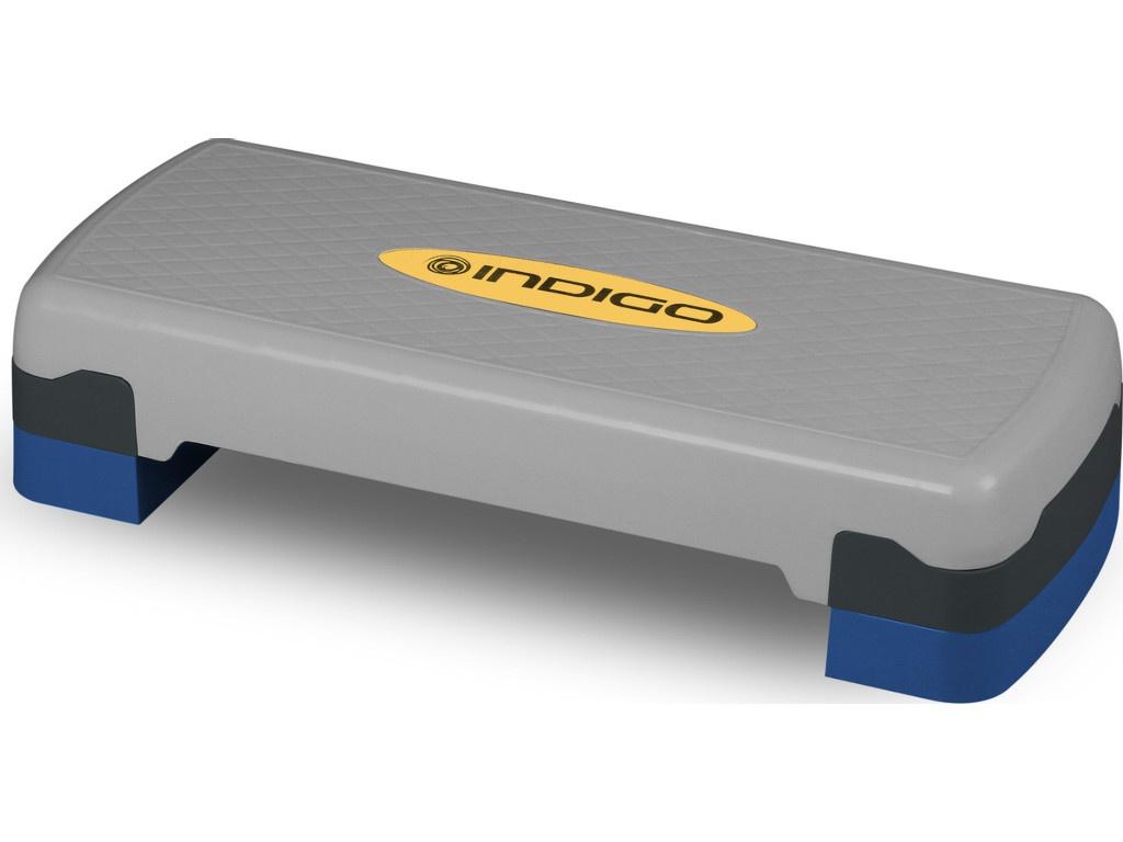 Фото - Степ платформа Indigo IN171 Grey-Blue степ платформа proxima профессиональная fitness ft stp