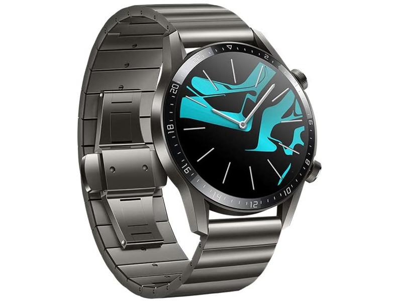 Умные часы Huawei Watch GT 2 Elite 46mm, Latona-B19B Titanium Grey 55024383 Выгодный набор + серт. 200Р!!! умные часы huawei watch gt 2 diana b19b refined gold 55024386