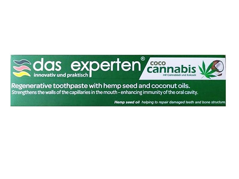 Зубная паста Das Experten Coco Cannabis Регенерирующая 70ml 2000039653