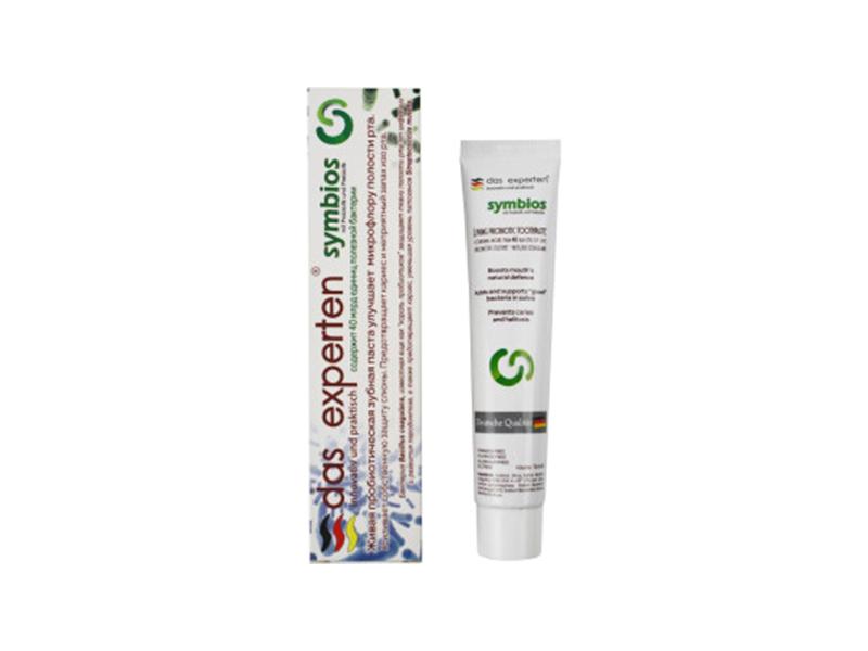 Зубная паста Das Experten Symbios Пробиотическая 70ml 2000039654