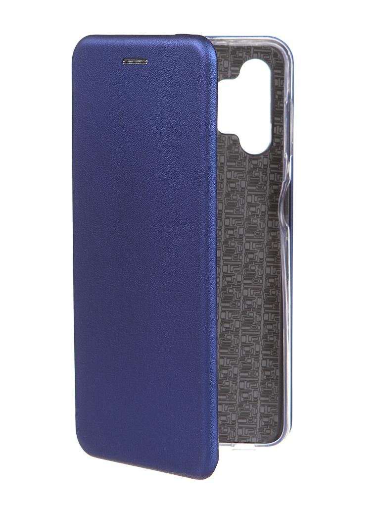 Фото - Чехол Zibelino для Samsung A32 Book Blue ZB-SAM-A325-BLU чехол zibelino для samsung m31s m317 book blue zb sam m31s blu