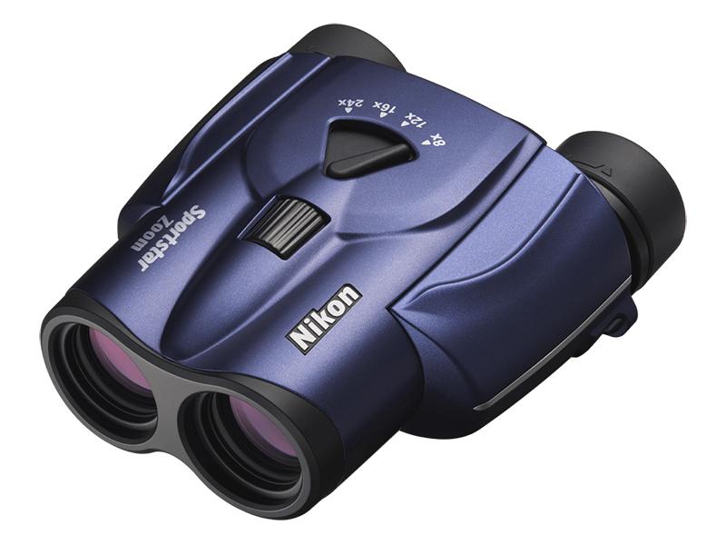 Фото - Бинокль Nikon Sportstar Zoom 8-24x25 Dark Blue бинокль olympus 8 16x40 zoom dps i n1240582