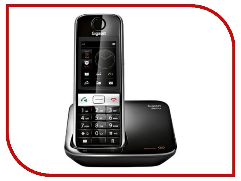 все цены на Радиотелефон Gigaset S820A Black онлайн