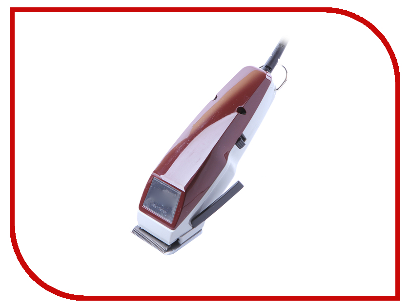 Машинка для стрижки волос Moser 1400-0051 Red машинка для стрижки собак мелких пород moser 1400 0074