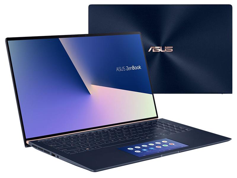 Ноутбук ASUS Zenbook 14 UX434FQ-A5037T Royal Blue 90NB0RM5-M01490 (Intel Core i7-10510U 1.8GHz/16384Mb/1024Gb SSD/nVidia GeForce MX350 2048Mb/Wi-Fi/Bluetooth/Cam/14.0/1920x1080/Windows 10)