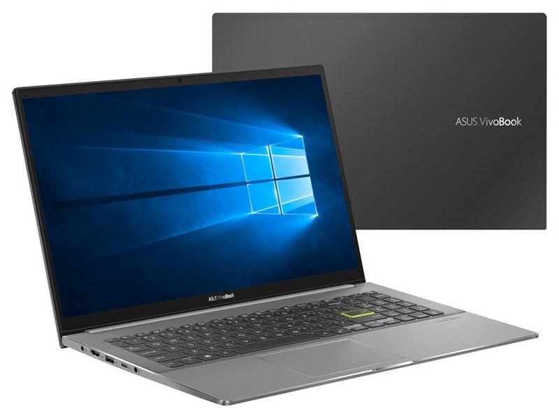 Ноутбук ASUS VivoBook S15 S533FL-BQ214T 90NB0LX3-M04510 (Intel Core i7-10510U 1.8GHz/16384Mb/1Tb SSD/nVidia GeForce MX250 2048Mb/Wi-Fi/15.6/1920x1080/Windows 10 64-bit)