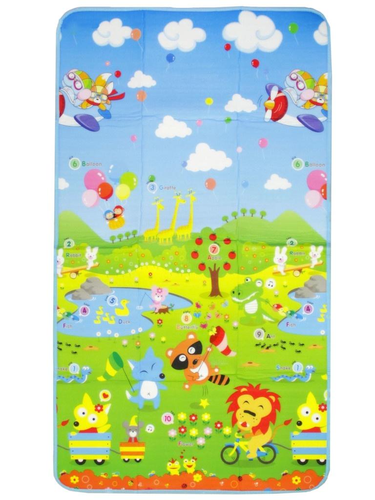 Развивающий коврик Пушистое счастье Путешествие 177х100cm 2333385