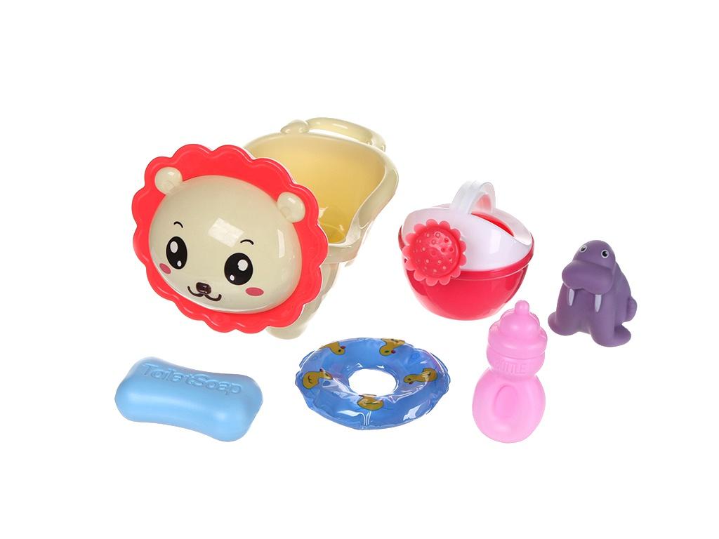 Набор игрушек Крошка Я Ванночка-Львенок 4567375