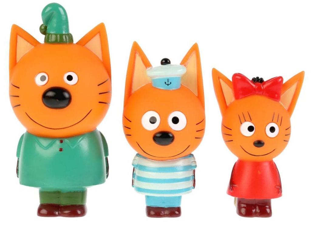 Набор игрушек Крошка Я Компот, Коржик, Карамелька 4523184 подарочный набор крошка я карамелька