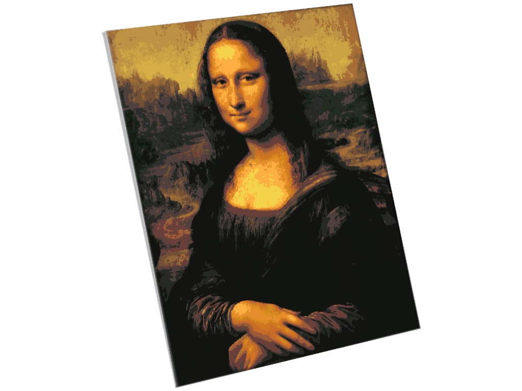 Фото - Картина по номерам Школа талантов Мона Лиза. Леонардо да Винчи 40x50cm 5135000 картина по номерам школа талантов мона лиза леонардо да винчи 40x50cm 5135000