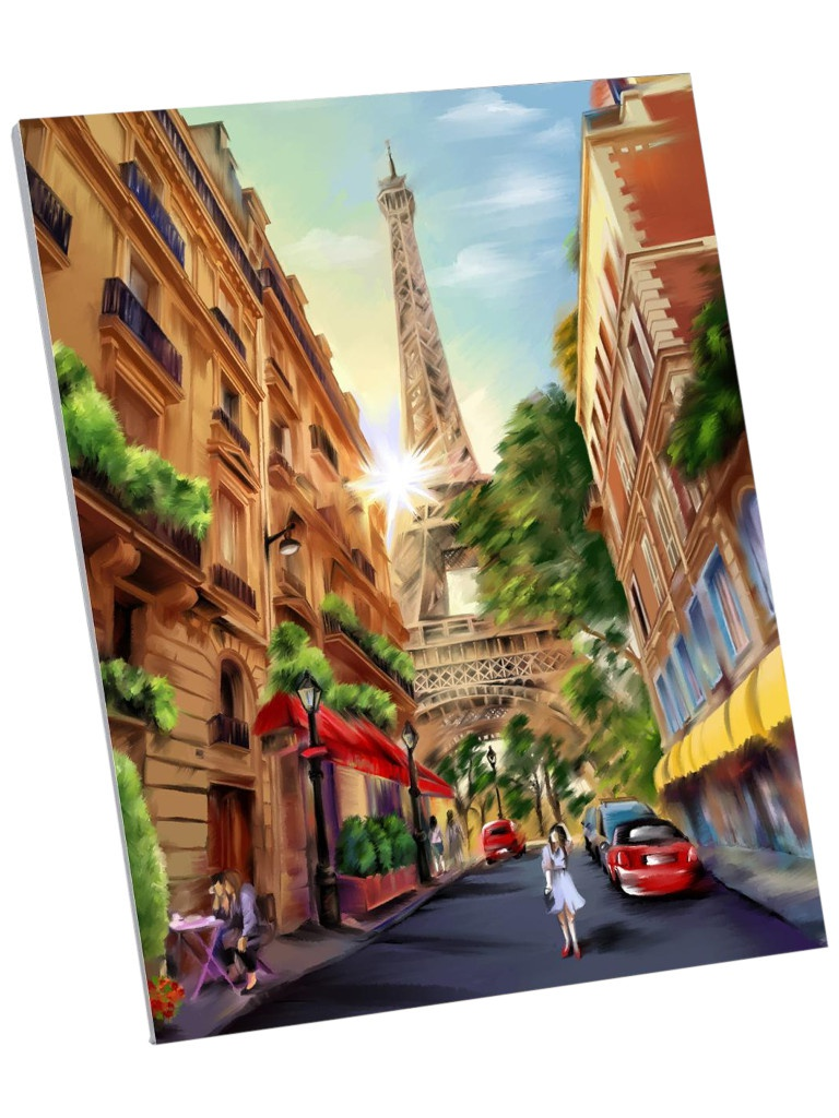 Картина по номерам Школа талантов Прогулка Парижу 40x50cm 5248131