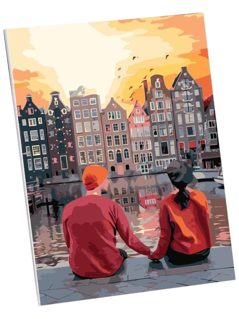 Картина по номерам Школа талантов Романтичный вечер 40x30cm 5177177